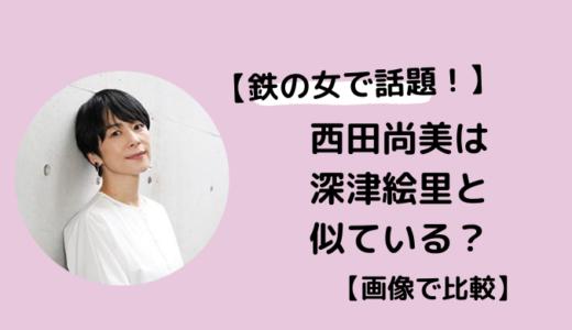 【画像】西田尚美さんは深津絵里さんと似ている?【半沢直樹で話題】
