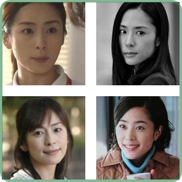 西田尚美と深津絵里似ている画像