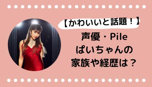 Pile(ぱいちゃん)の家族や経歴は?プロフィールまとめ!かわいい画像も!