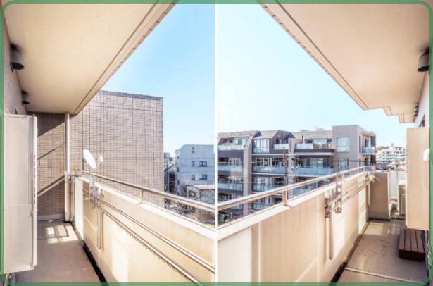 ルクラス碑文谷伊勢谷友介の自宅・ベランダからの眺め