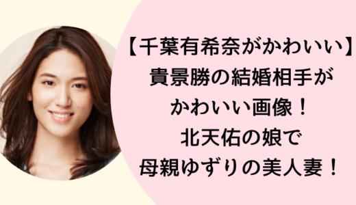 【画像】貴景勝の嫁・千葉有希奈がかわいい!北天佑の娘で母親とそっくり!