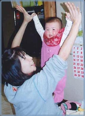 池江璃花子と母親