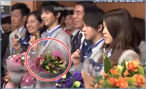 橋本聖子の羽生結弦に対する発言がパワハラ?!蕾だけの花束画像も!