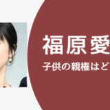 【福原愛】子供の親権は江宏傑との共同親権か?!台湾の法律を調べてみた