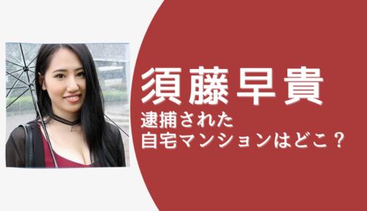 須藤早貴の自宅マンションは品川区のパークシティ大崎ザ・タワーか?!1億超えの億ション!