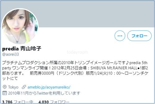 青山玲子の現在は引退してライターに転身?!インスタ・Twitter画像も!