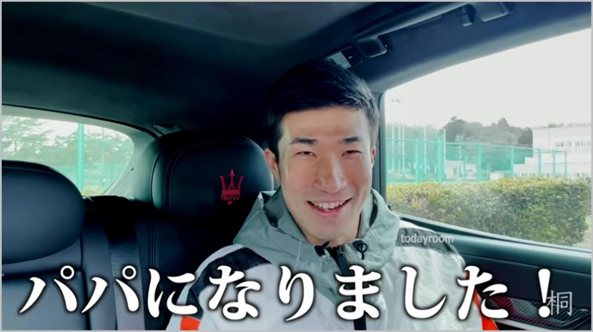 【顔画像】桐生祥秀の嫁は年上で子供一人!馴れ初めや職業についても!